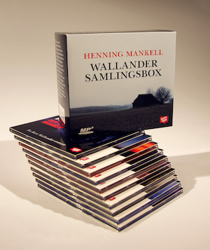 Wallander - samlingsbox Mannen som log : en Kurt Wallander-roman